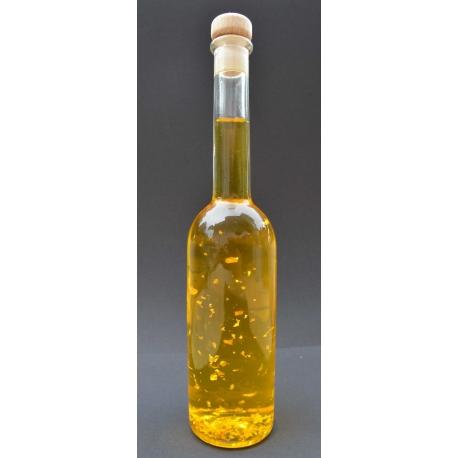 Goldöl, 200 ml mit Mandelöl in der Glasflasche Opera
