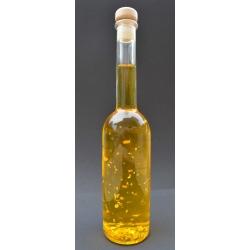 Goldöl, 200 ml mit Aprikosenkernöl in der Glasflasche Opera